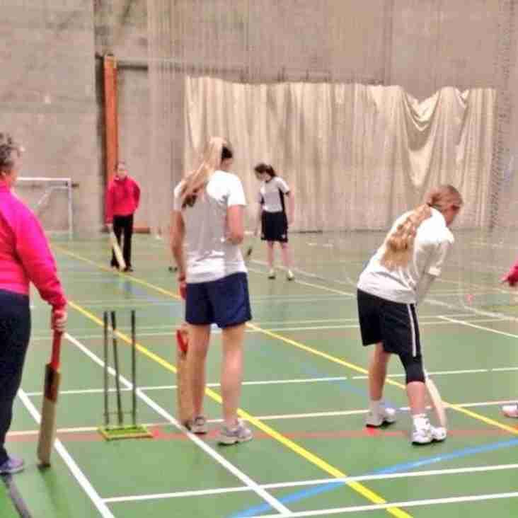 Senior Women back in training......almost!