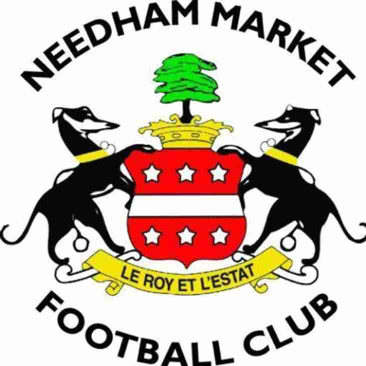 Tue 15 Aug | Needham Market vs Thurrock | 19:45