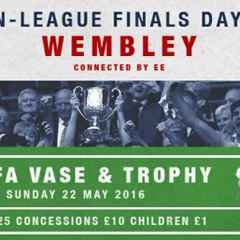 Non-League Finals Day at Wembley