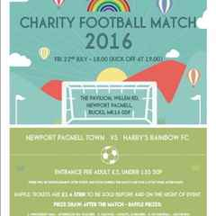 The Swans vs Harry's Rainbows - Charity Match !