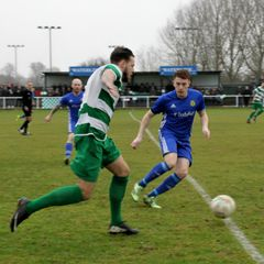 The Swans 3-2 Peterborough Sports - FA Vase Photos.  Photos by Tony Webster