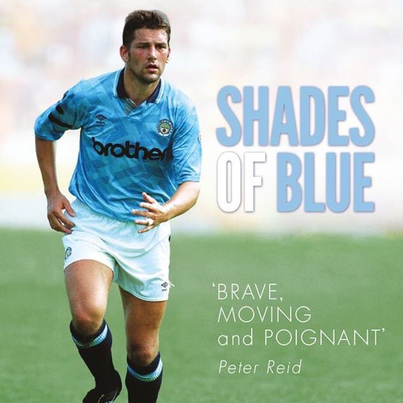 David White Ex-Man City player book signing at Newport Pagnell Town FC