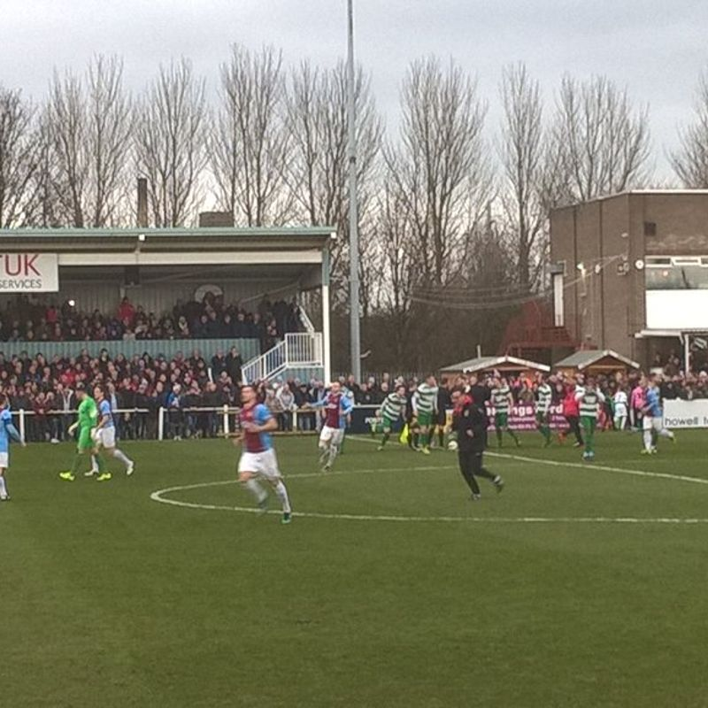 South Shields 6-1 Newport Pagnell Town - Buildbase FA Vase Quarter Final