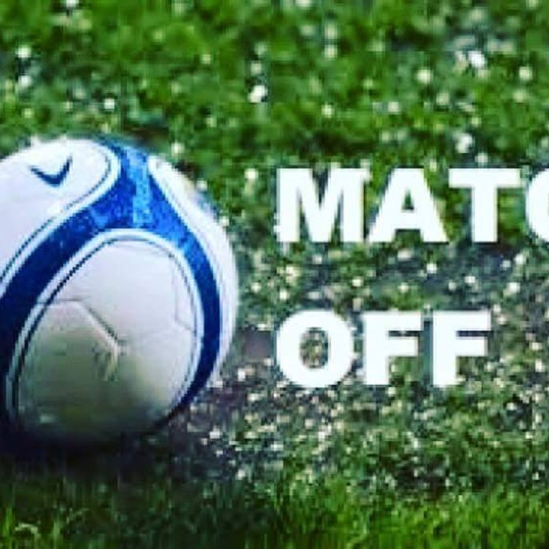 Tonights game vs Rothwell Reserves has been POSTPONED !