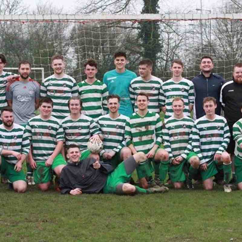 Sunday Swans Team - Champions New City Heating MK League Div 1