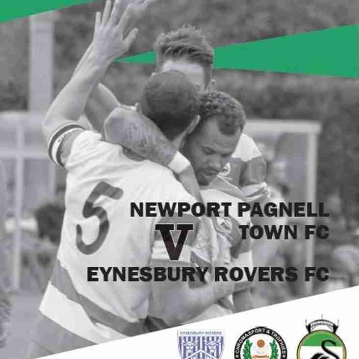 Vs Eynesbury Rovers Programme - 17th April