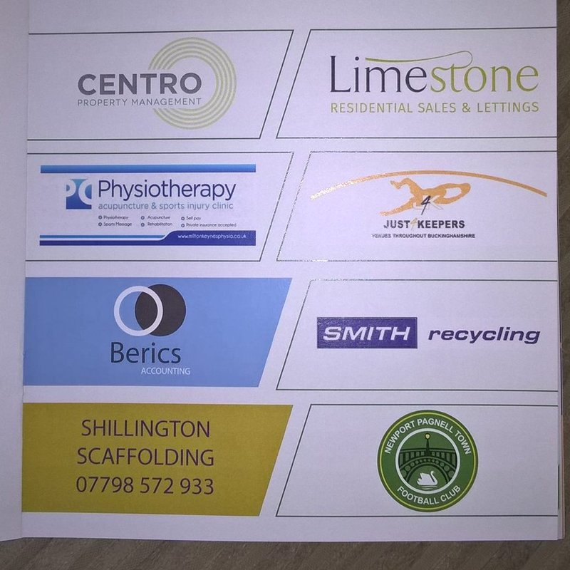 Thank you to all of our Sponsors at this weekends NPTFC Youth Tournament.