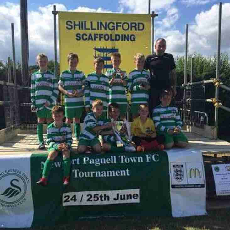 Congratulations to the NPTFC Under 9 Pumas won at the NPTFC Tournament today.