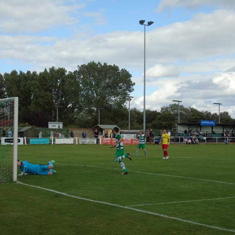 Newport Pagnell Town 3-3 Kempston Rovers - Emirates FA Cup, Preliminary Round