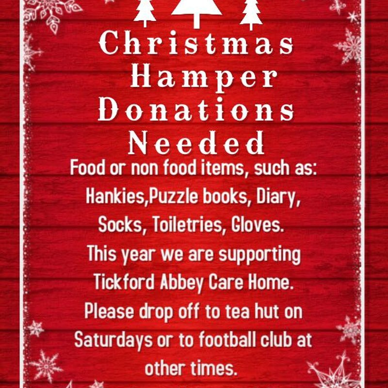 Christmas Hamper Donations Needed!