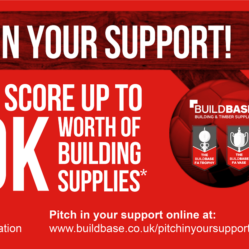 Pitch Your Support to try and help NPTFC win 50k worth of building supplies.