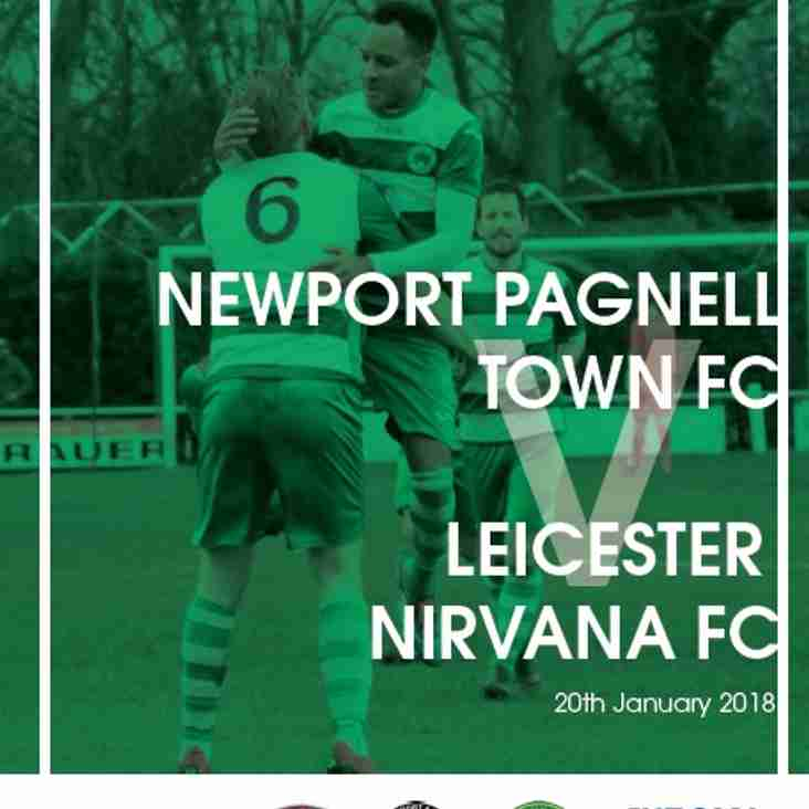 Swans vs Leicester Nirvana - ChromaSport UCL Premier Division - Sat 20th Jan 2018 - KO 3pm