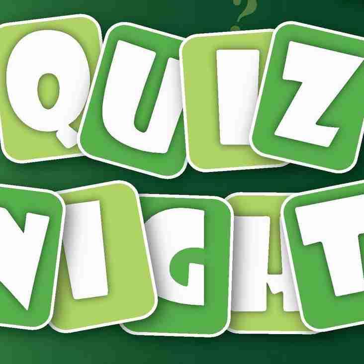 Quiz Night at NPTFC - Friday 20th April at 8PM
