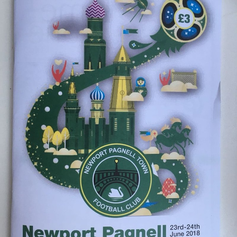 Good luck to all the teams in Today's & Tomorrow's Newport Pagnell Tournament at Willen Road!