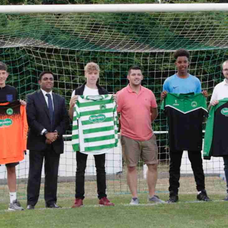 A big thank you to Specsavers who have sponsored the Newport Pagnell Town Under 16s