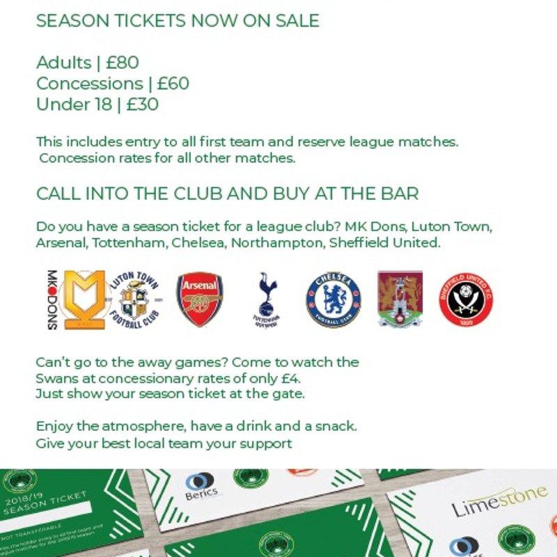 NPTFC Season Tickets on Sale!