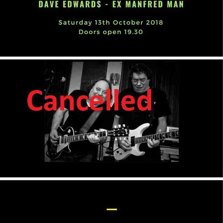 **********Event Cancelled!!!  Dennis Stratton & Dave Edwards*********