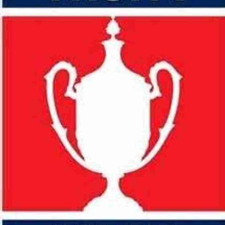 FA Vase Game vs Canterbury City now on Sunday 6th January - KO TBA