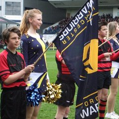 U12s & U11s at Worcester Warriors 10 May 2014
