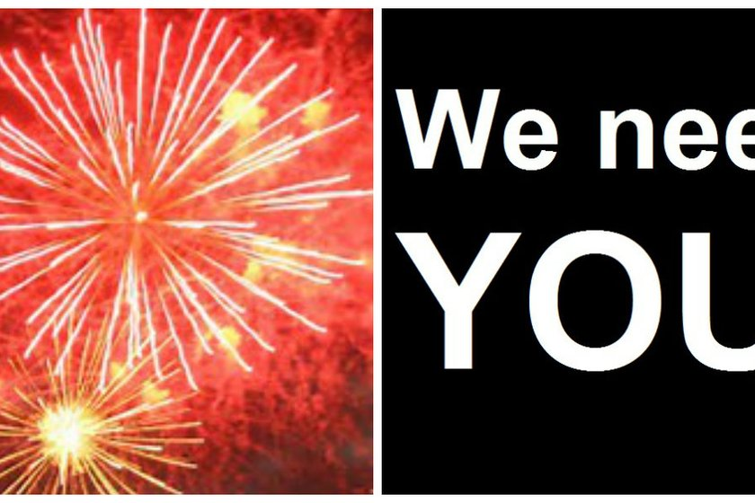BONFIRE NIGHT VOLUNTEERS REQUIRED