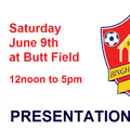 Presentation Day 2018 - Saturday 9th June