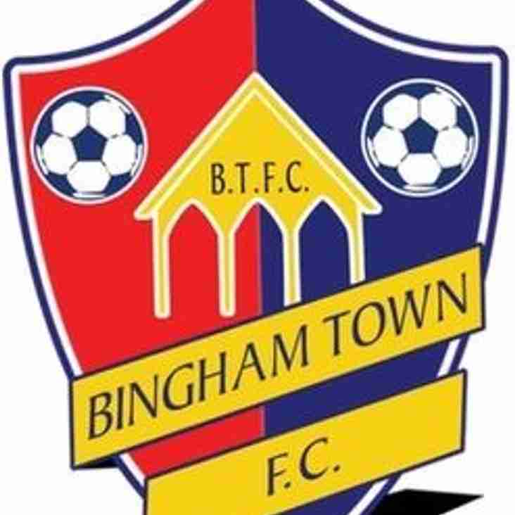 BTFC Managers/Coaches v Bingham Town Vets