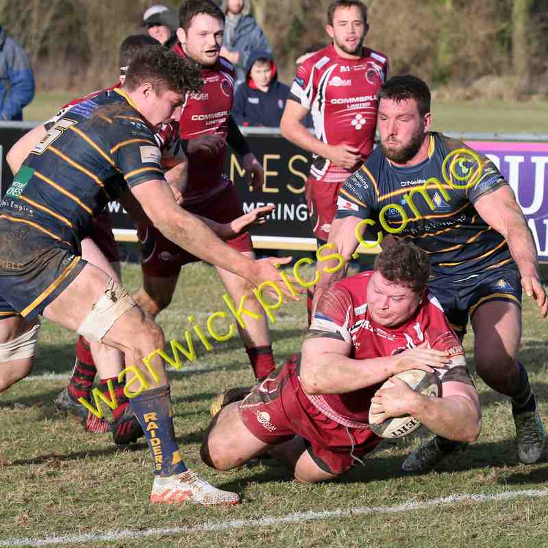 Titans v Worthing Raiders 03/2017