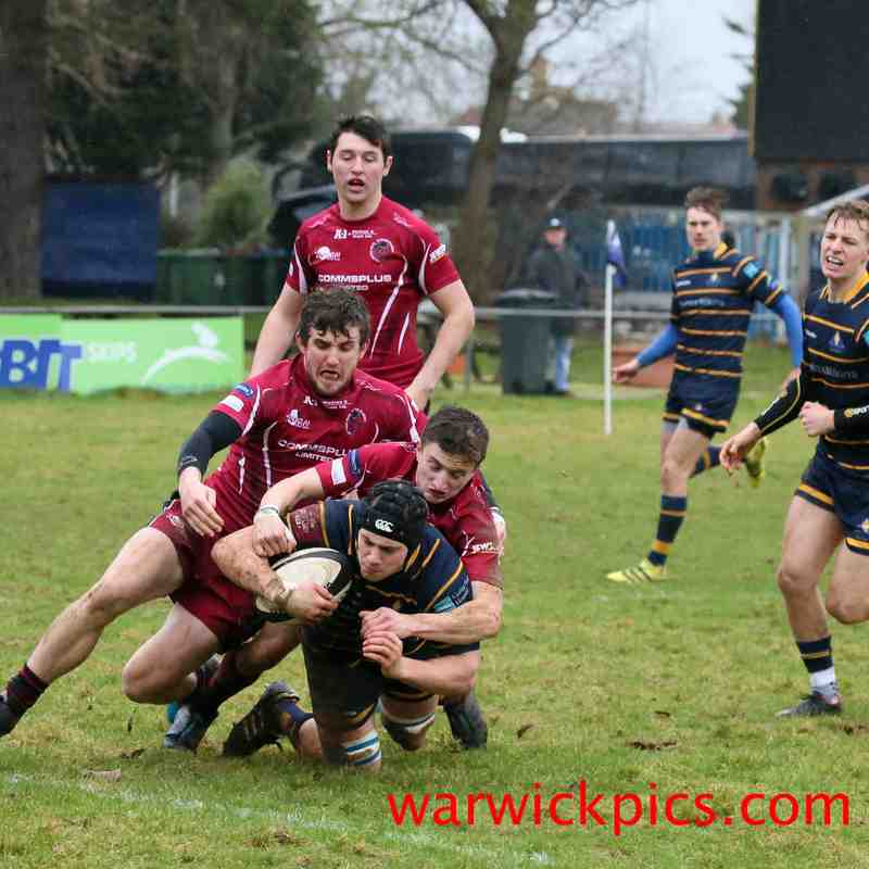 1stXV v Worthing Raiders 01/2018