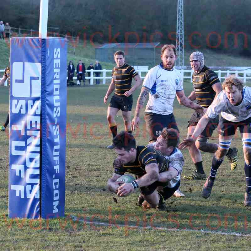 1stXV v Brighton Blues 02/2018
