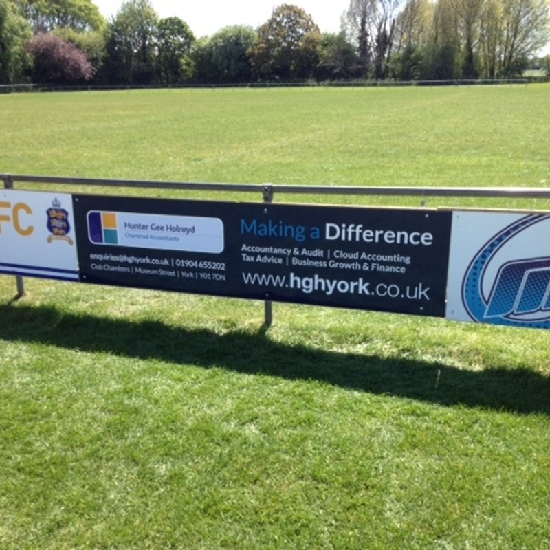 More Pitchside boards fitted..