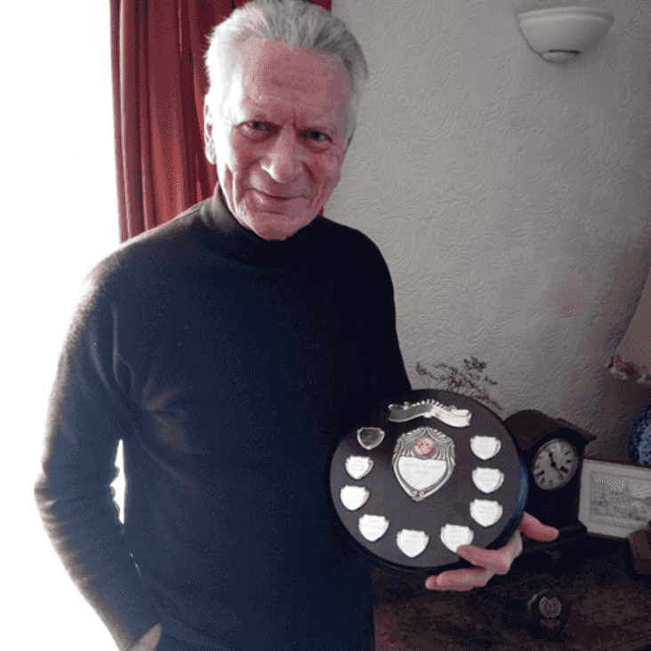 Club President Peter Crisp receives Services to Sport Award