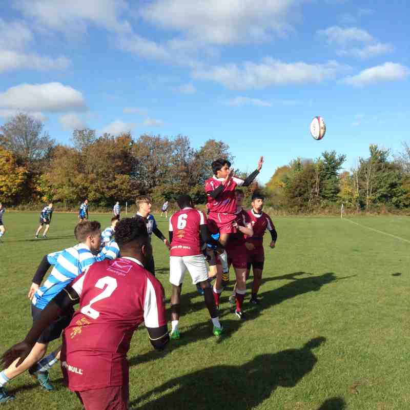 Under 14/15 v Warlingham - Sun  6 Nov 2016