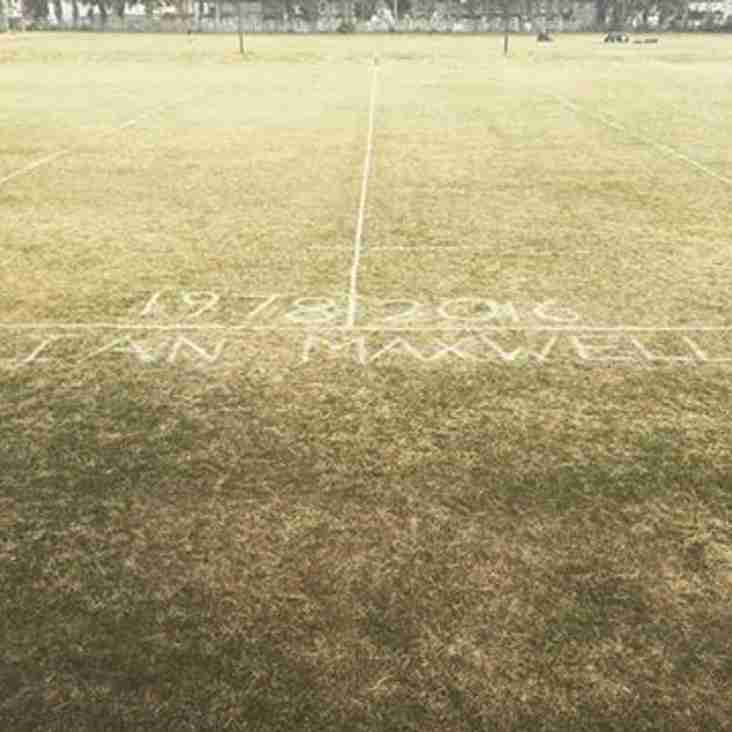 Ian Maxwell 1 Year Memorial Game