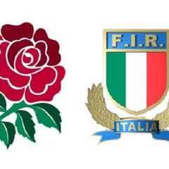 Italy v England - Sunday 14th Feb