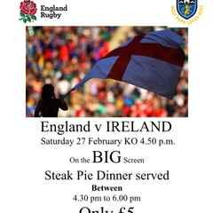 England v Ireland
