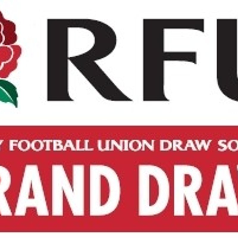 RFU Grand Draw - Tickets Now Available Behind the Bar