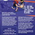 Kids Rugby Camp & Roadshow (7-16)  : 31st July - 4th August at The Sycamores