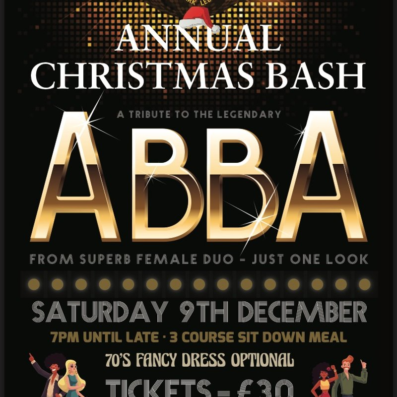 ABBA Tribute Night & 70's Disco - 9th Dec, 7pm until late!