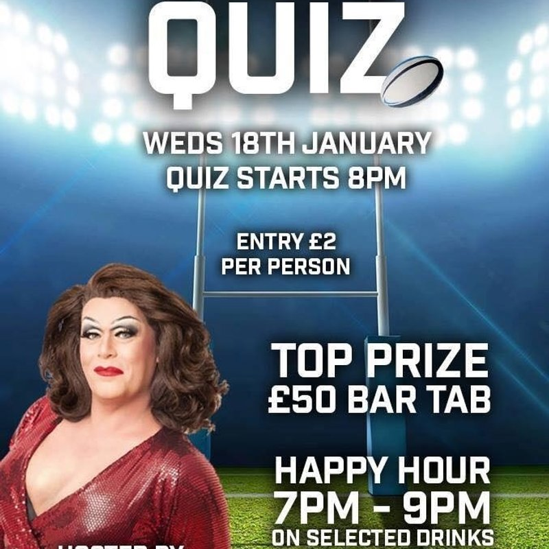 RuggerQuiz - Beat the January Blues