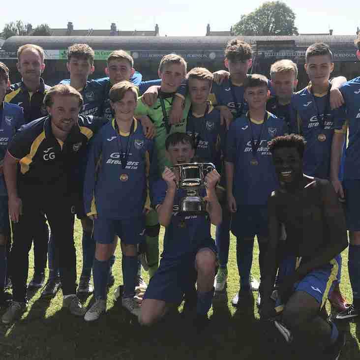 Basildon United U14's Lions 0 -1 Canvey Island Youth U14's Yellow