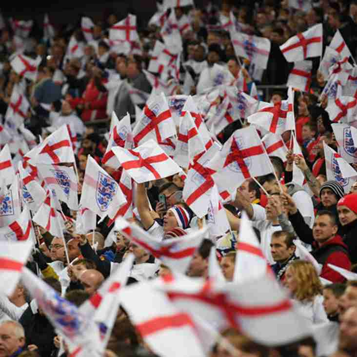 Watch England In The World Cup At CIFC!