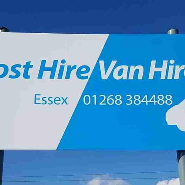 Frost Hire Van Hire Extends Stadium Sponsorship Deal