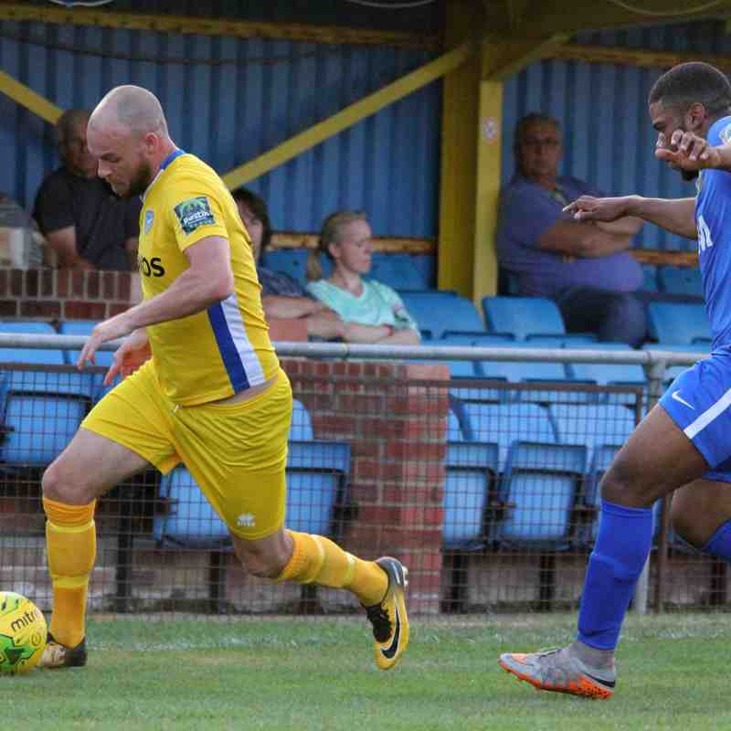 Canvey Island v VCD Athletic - Tuesday 17th July 2018 - by KJA Sports Images
