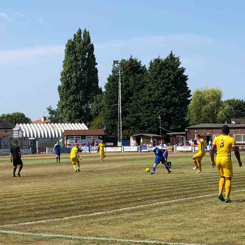 Herne Bay v Canvey Island - Saturday 21st July 2018