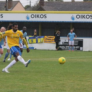 Canvey Island 2-2 Brentwood Town