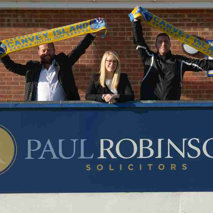 Paul Robinson Solicitors LLP Back The Gulls Once More!