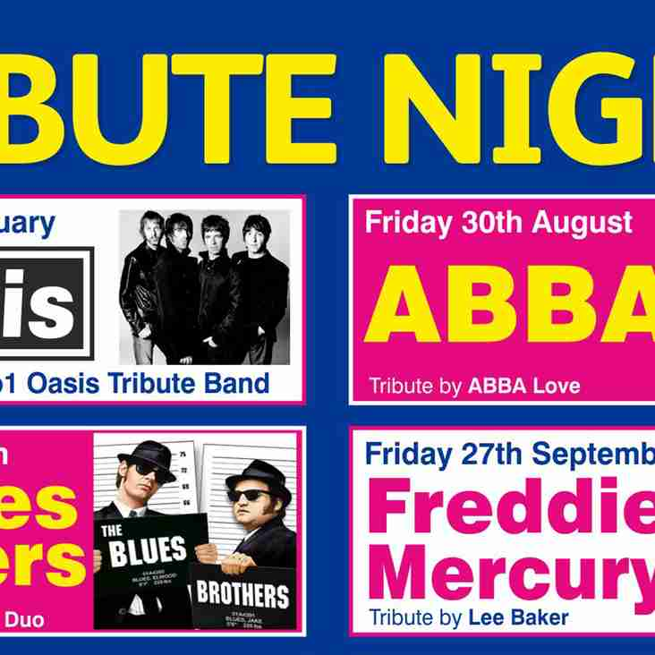 2019 Tribute Nights Arranged