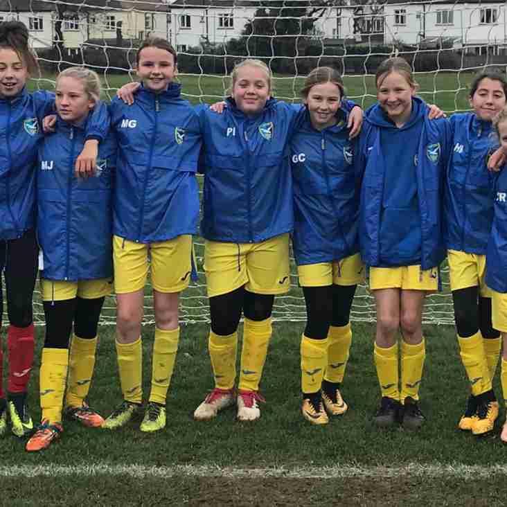 U12's Ladies Win League Title