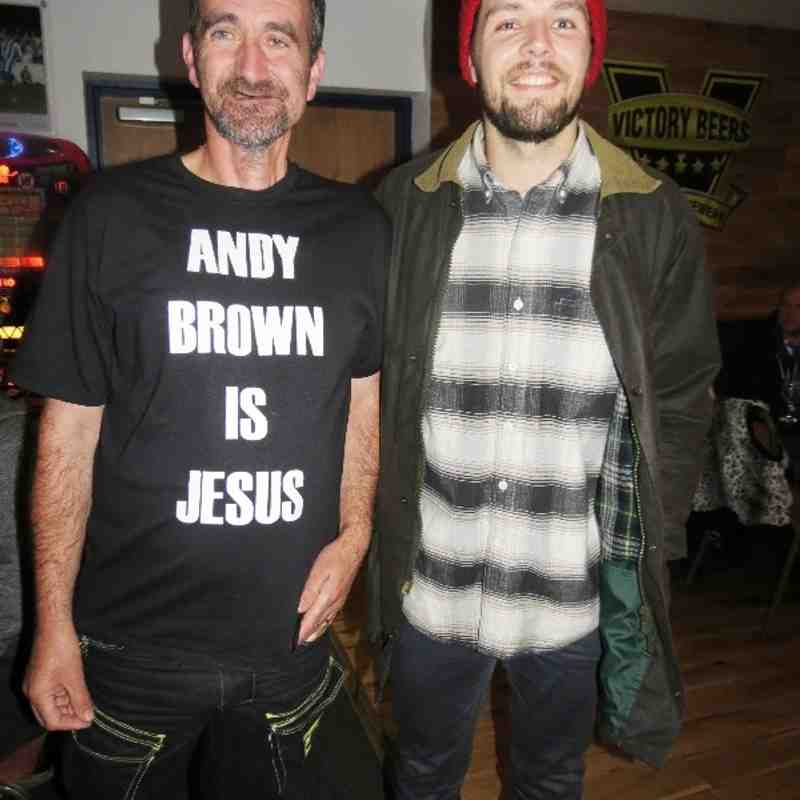 The Andy Brown Fan Club!
