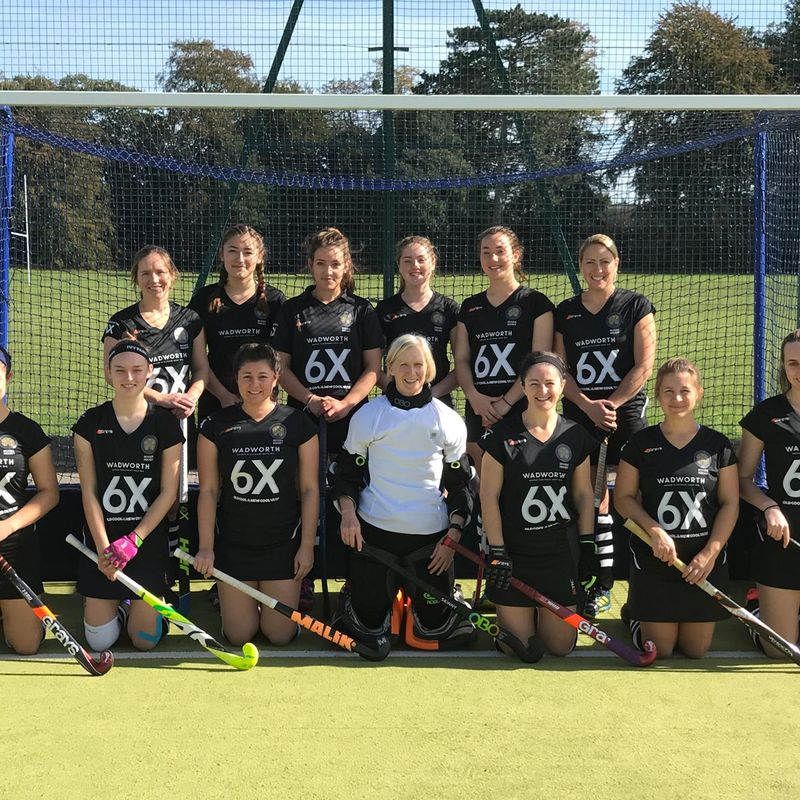 Ladies 1s beat City of Bath 6 - 1